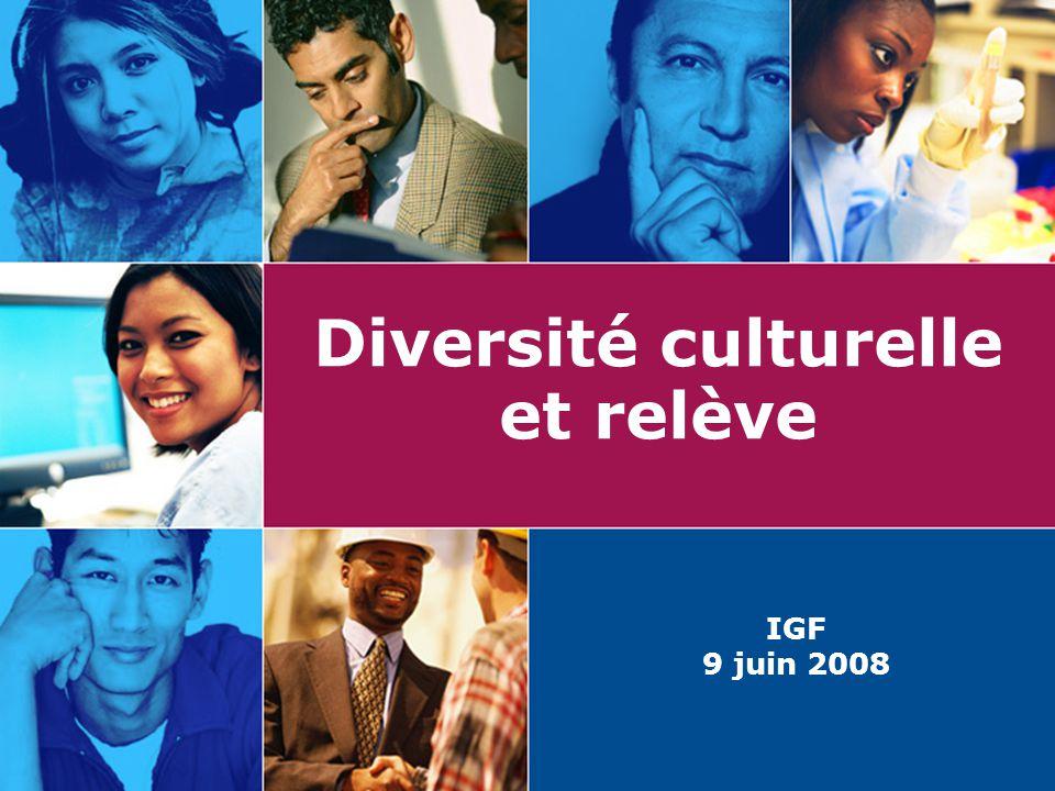 Diversité culturelle et relève IGF 9 juin 2008