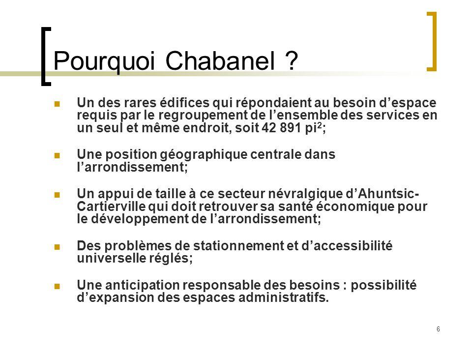 6 Pourquoi Chabanel .