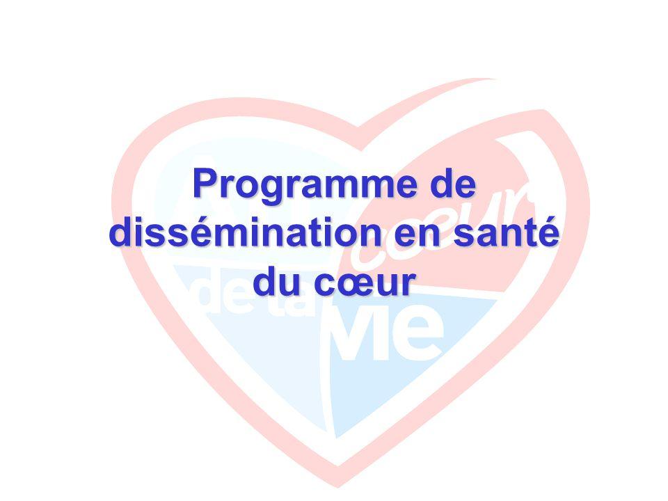 Programme de dissémination en santé du cœur