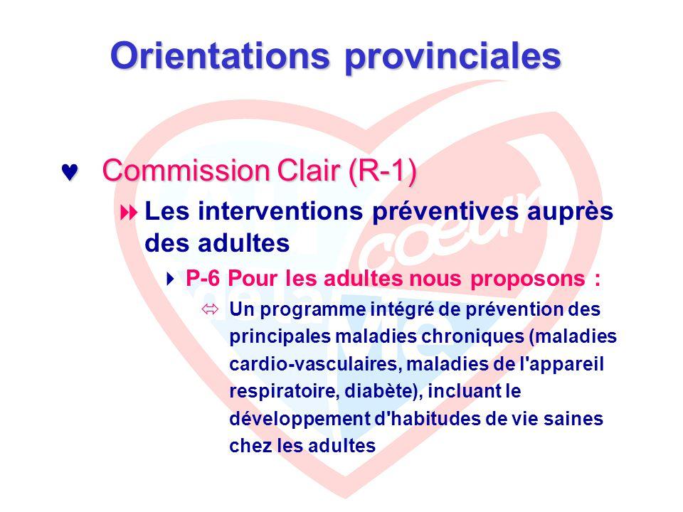 Programme de dissémination en santé du cœur Vise 3 cibles d intervention : Vise 3 cibles d intervention :  Les usagers  Les équipes  La communauté