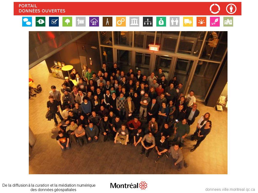 De la diffusion à la curation et la médiation numérique des données géospatiales donnees.ville.montreal.qc.ca