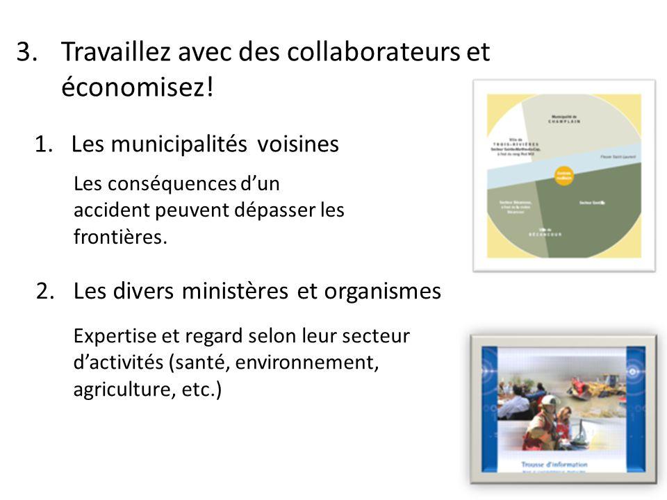 3. Travaillez avec des collaborateurs et économisez.