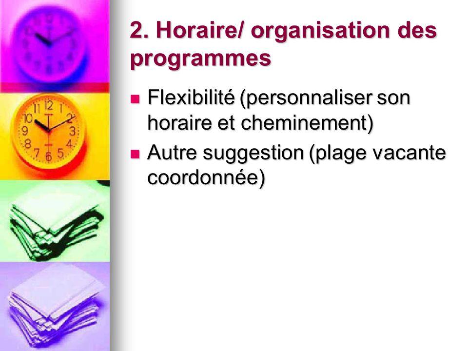 1. Environnement physique Harmonisation avec la nature (virage écologique, arbres, plantes, jardins, etc.) Harmonisation avec la nature (virage écolog