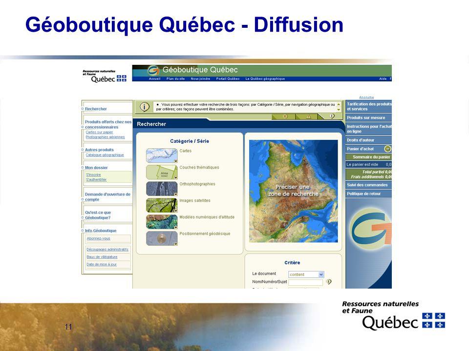 11 Géoboutique Québec - Diffusion