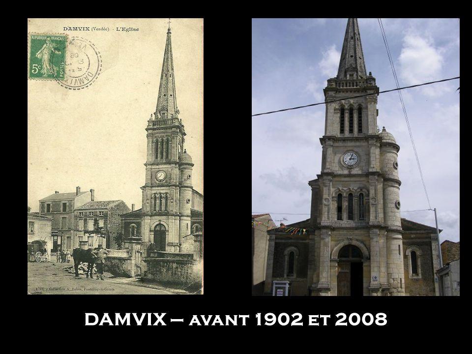 SAINT JEAN D'ANGELY - 1918 et 2009