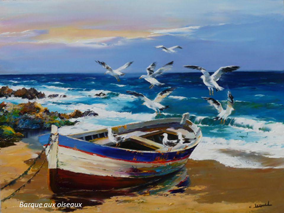 Barque aux oiseaux