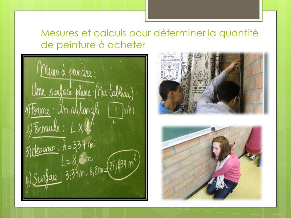Il faut maintenant communiquer nos résultats Nous avons fait des sciences, des maths, du français, des travaux manuels, du graphisme, de l'informatique, …..