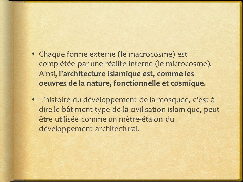  Chaque forme externe (le macrocosme) est complétée par une réalité interne (le microcosme).