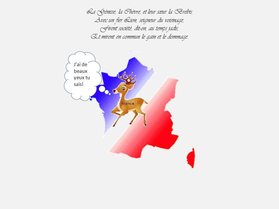 Jean de la Fontaine La Génisse, la Chèvre, et la Brebis.. Valérie Y commence à me courir avec ses ex ! Ségo Anne France Par Nanou et Stan