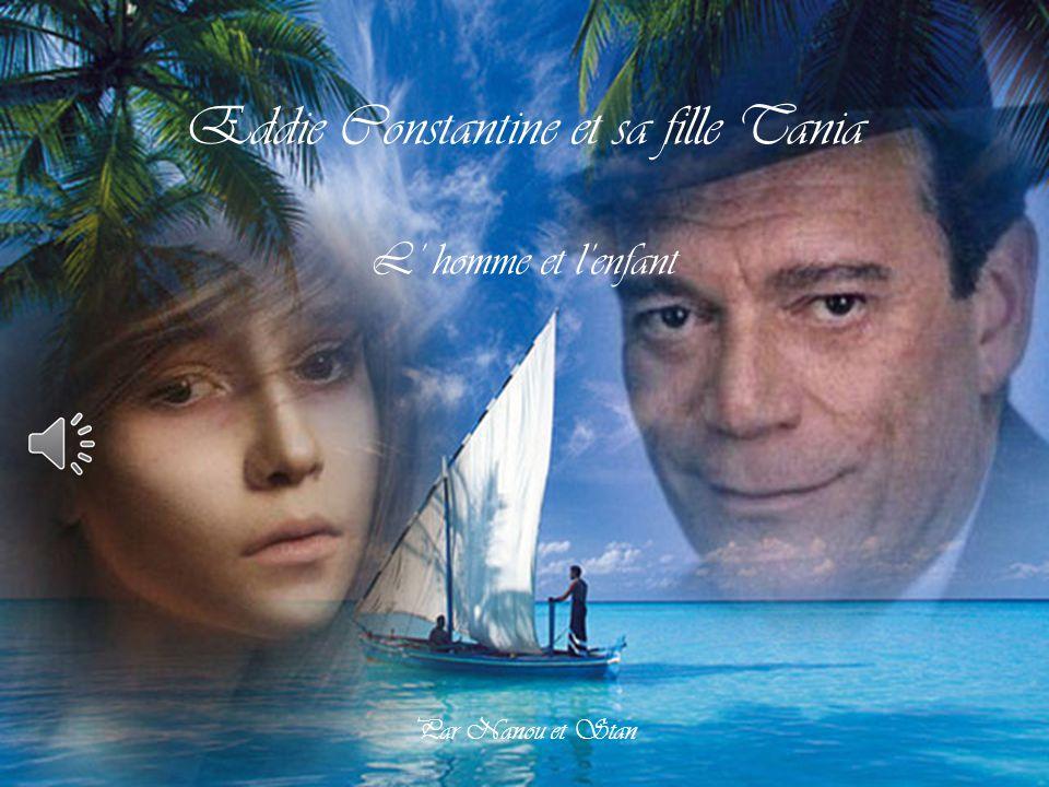 Eddie Constantine et sa fille Tania L' homme et l'enfant Par Nanou et Stan