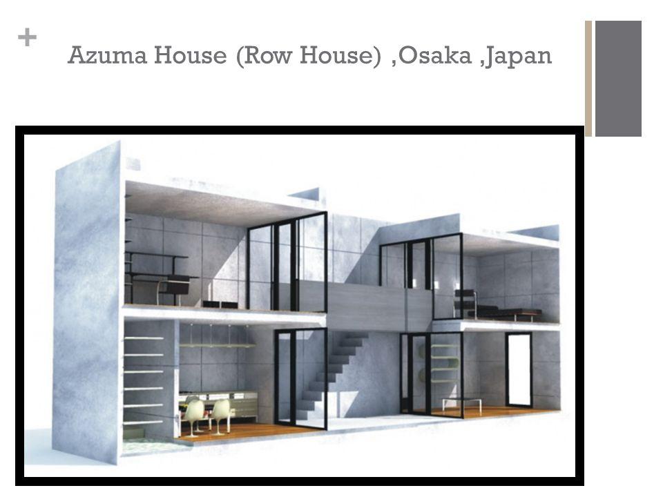 + Azuma House (Row House),Osaka,Japan