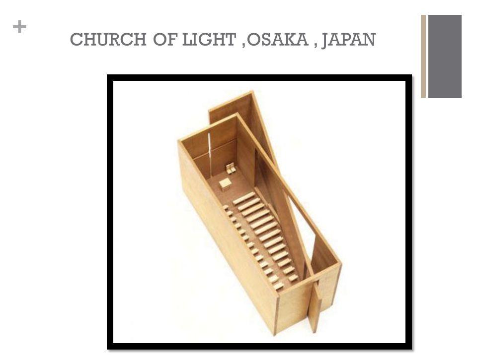 + CHURCH OF LIGHT,OSAKA, JAPAN