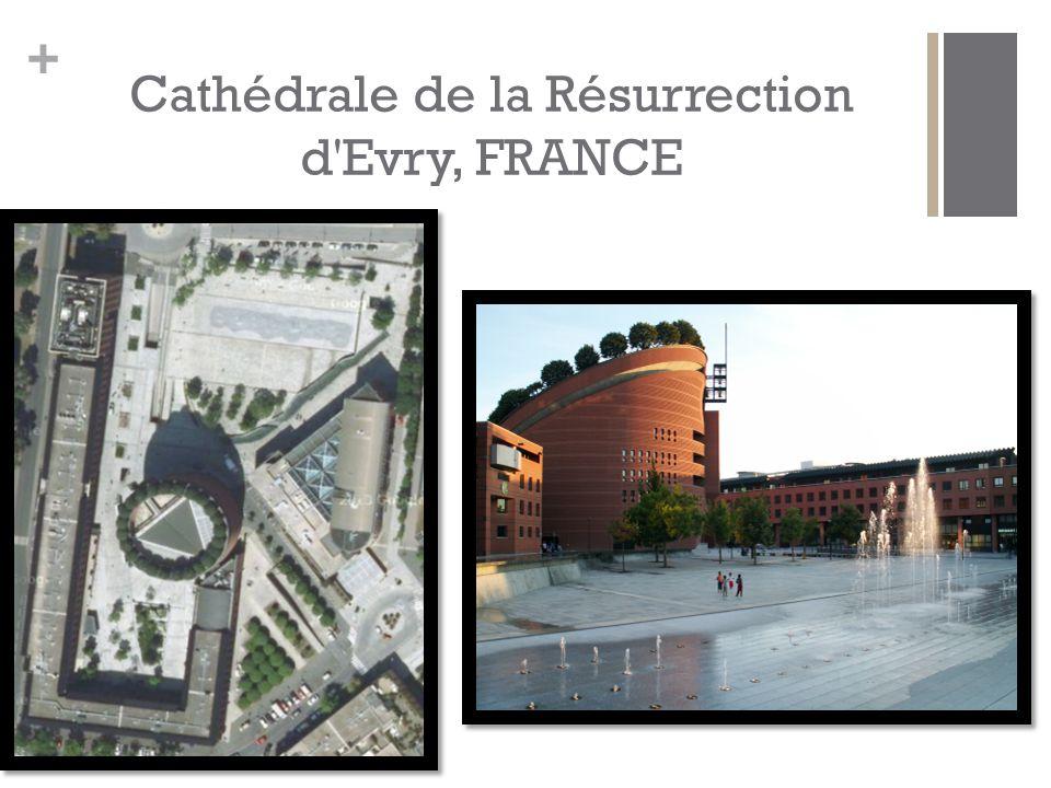 + Cathédrale de la Résurrection d Evry, FRANCE