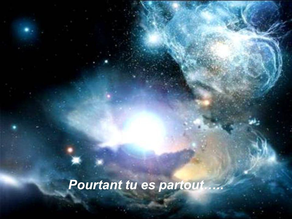 Pourtant tu es partout…..