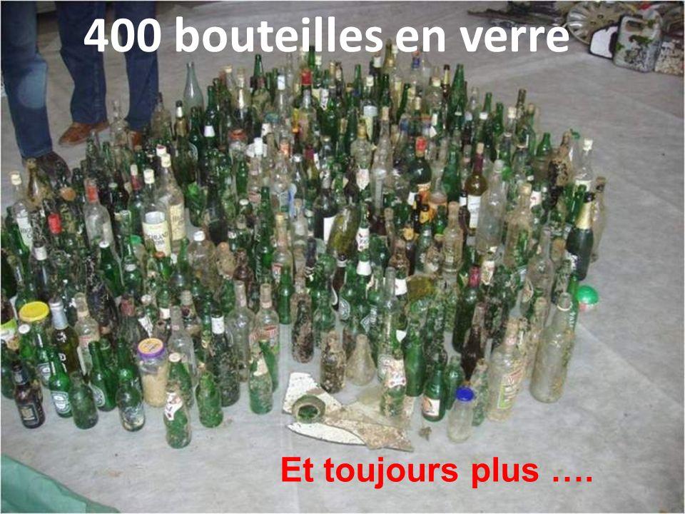 + de 1000 canettes