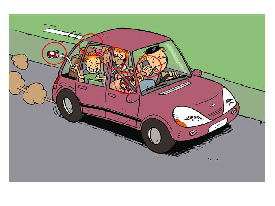 Coche les activités qui ne sont pas dangereuses et que tu peux faire en voiture pendant un long voyage :  lire un magazine.