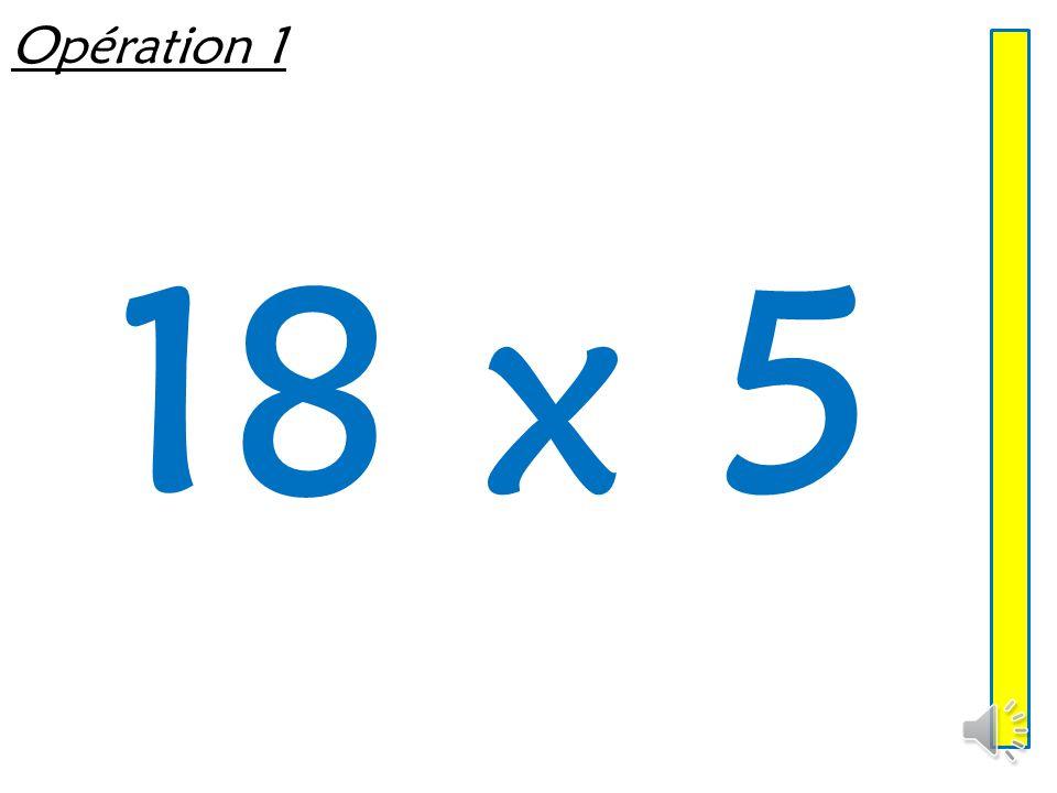 Multiplier par 5 ou 50 Mathématiques – Calcul mental  Entraînement n° 5
