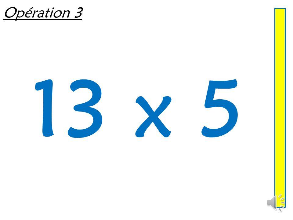 Opération 2 36 x 5