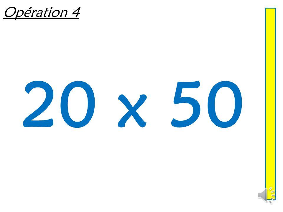 Opération 3 13 x 5