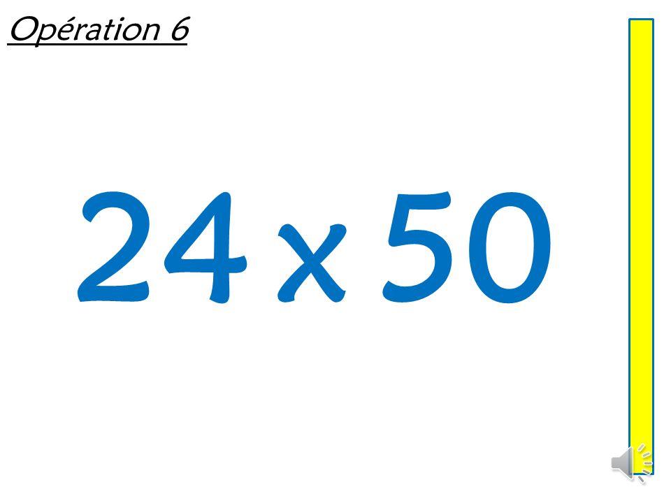 Opération 5 12 x 50