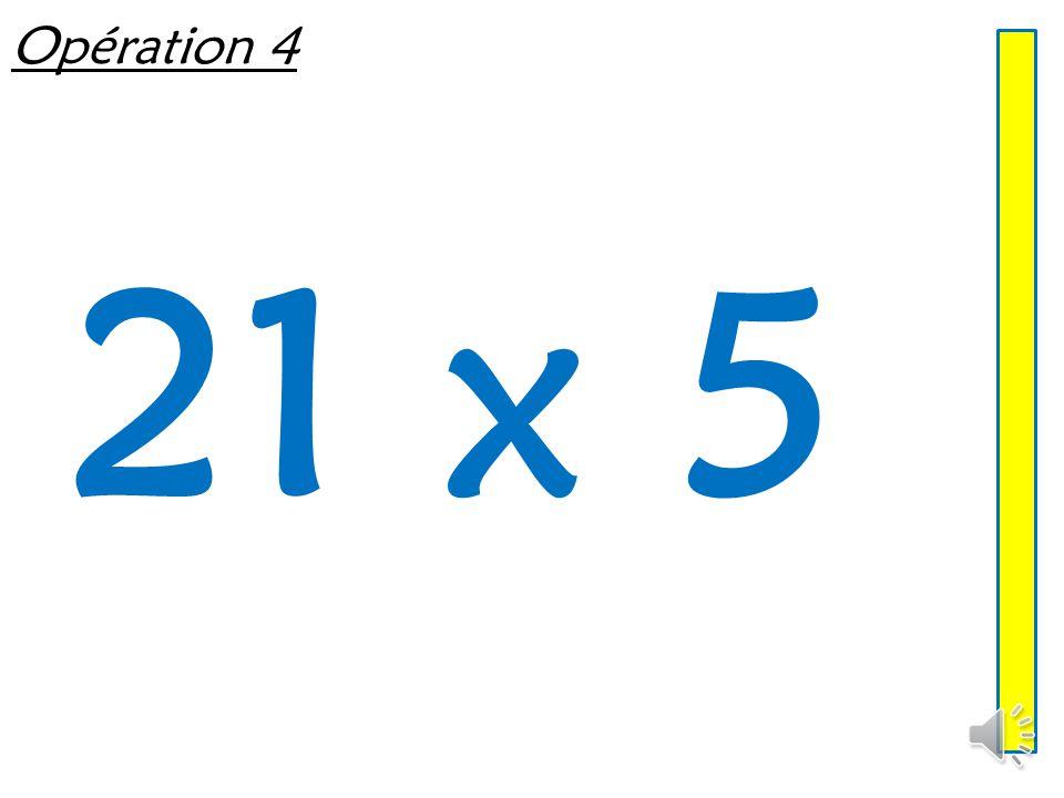 Opération 3 16 x 5