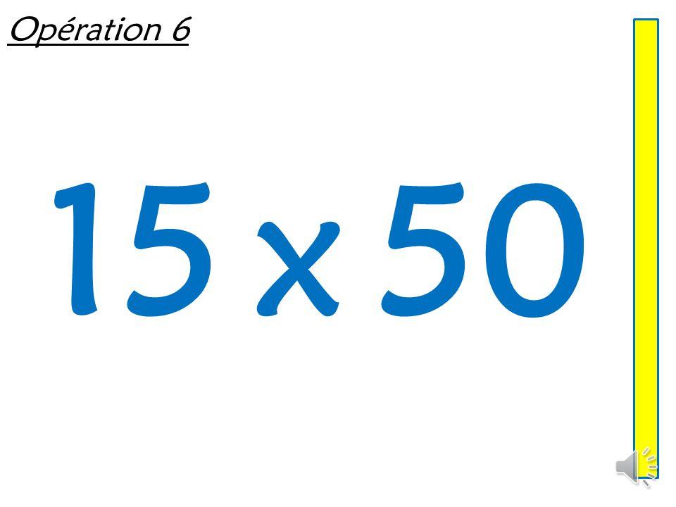 Opération 5 26 x 50