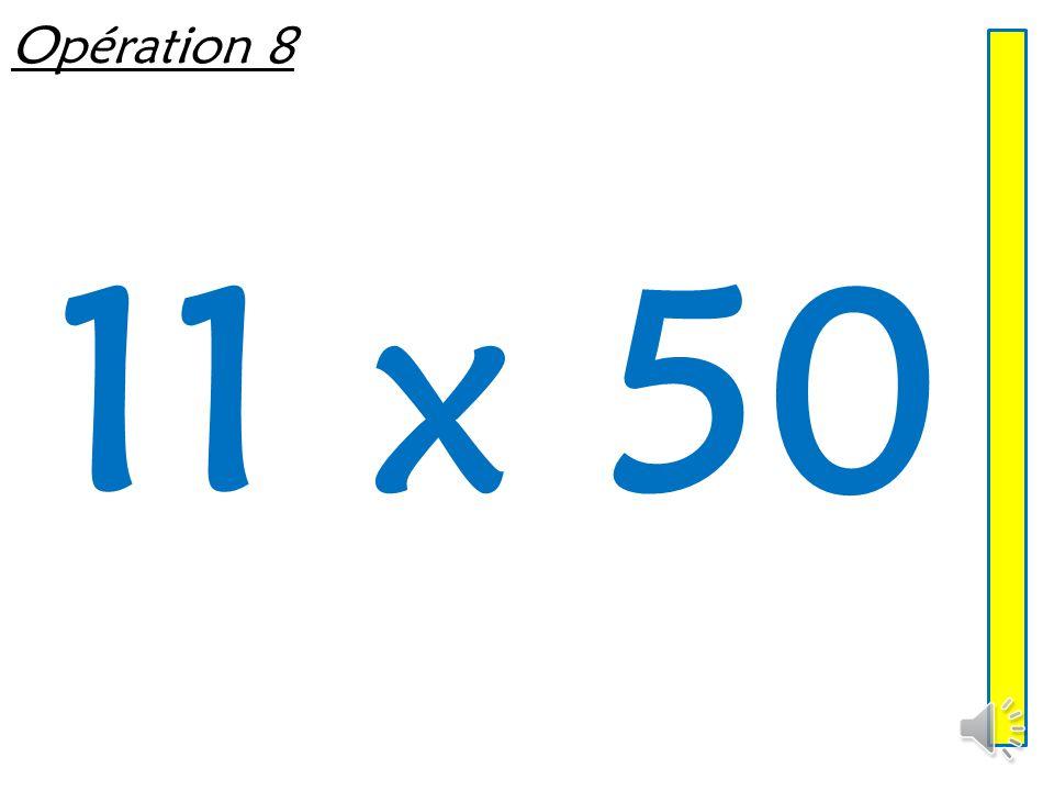 Opération 7 8 x 50