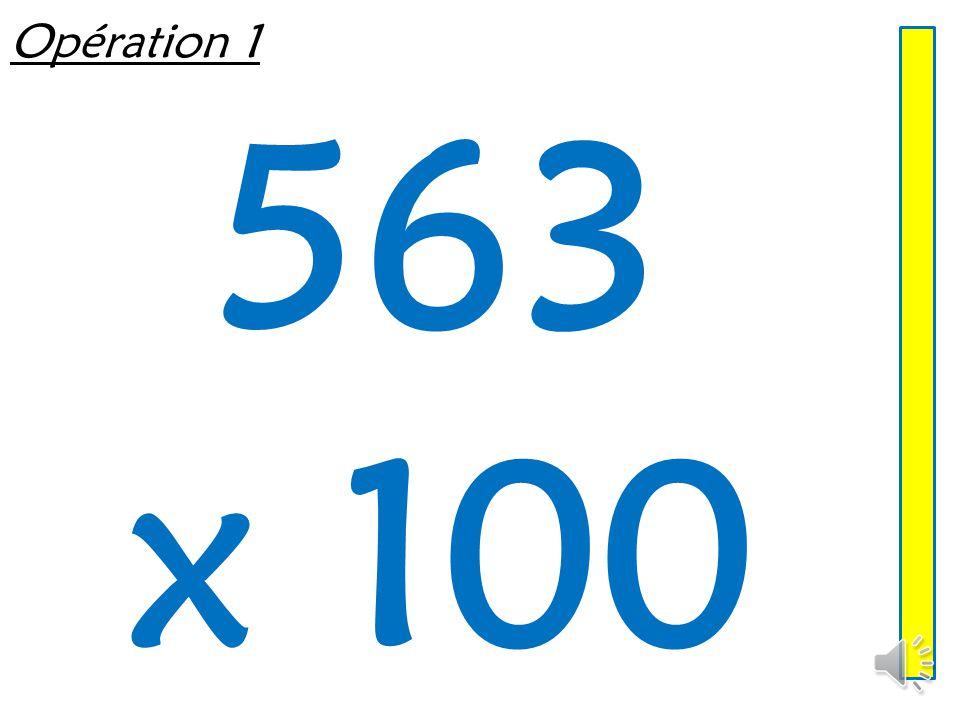 Multiplier ou diviser un entier par 10, 100, 1 000 Mathématiques – Calcul mental  Entraînement n° 7