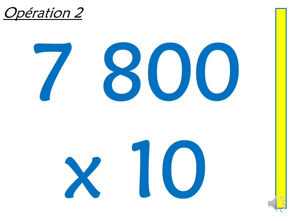Opération 1 630 ÷ 10