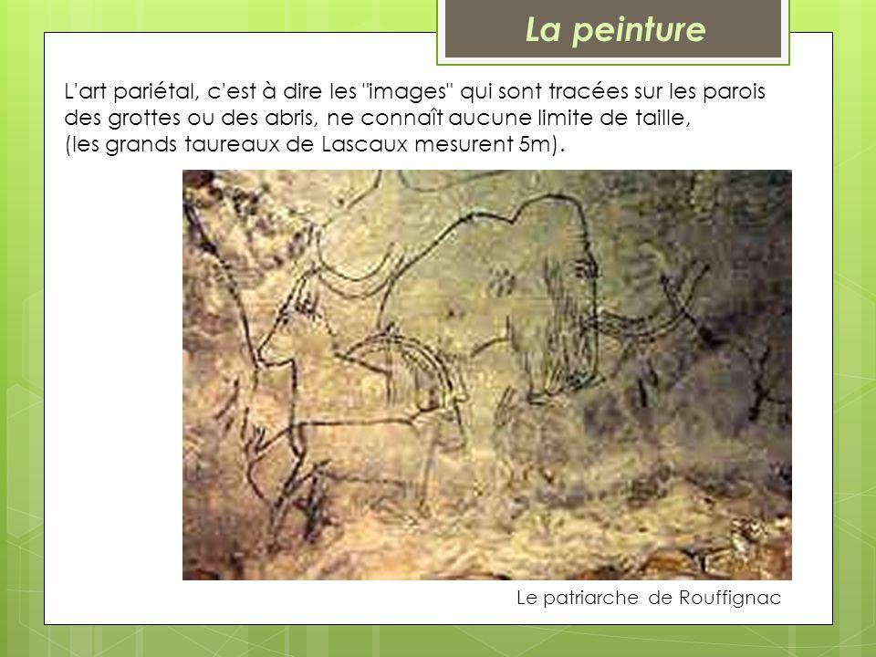 Le patriarche de Rouffignac L'art pariétal, c'est à dire les