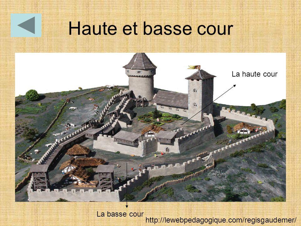 Haute et basse cour La basse cour La haute cour http://lewebpedagogique.com/regisgaudemer/