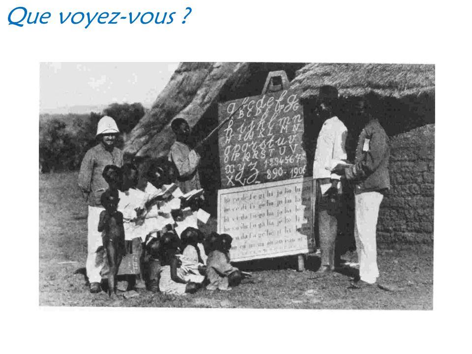 Comme le montrent ces images, au XIX ème siècle, les Européens explorent et s'installent dans de nouveaux pays.