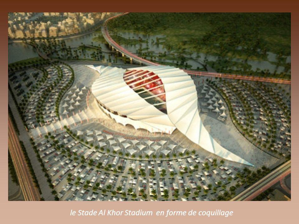 le futur stade Al Wakrah Stadium pour la coupe de Football en 2022