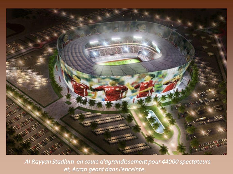 vue intérieure du Stadium Al Khor