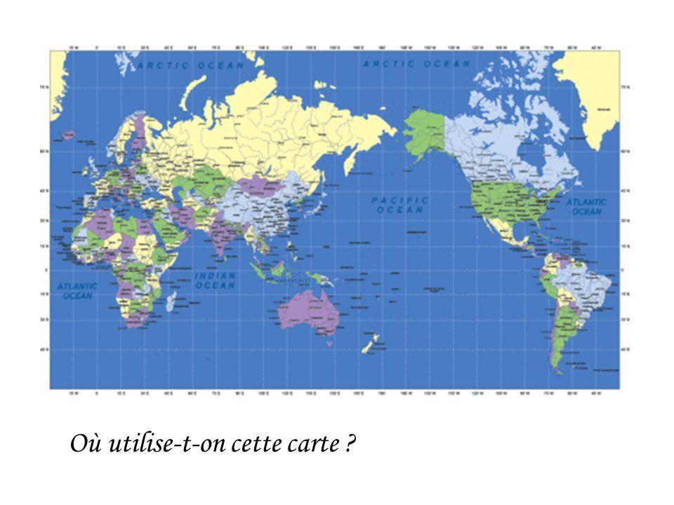 Où utilise-t-on cette carte ?