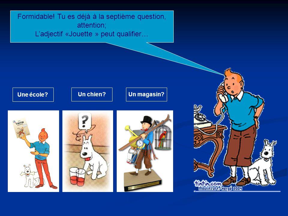 Super.Maintenant reste concentré pour la 6 ème question; « Spéculos », c'est quoi!!.