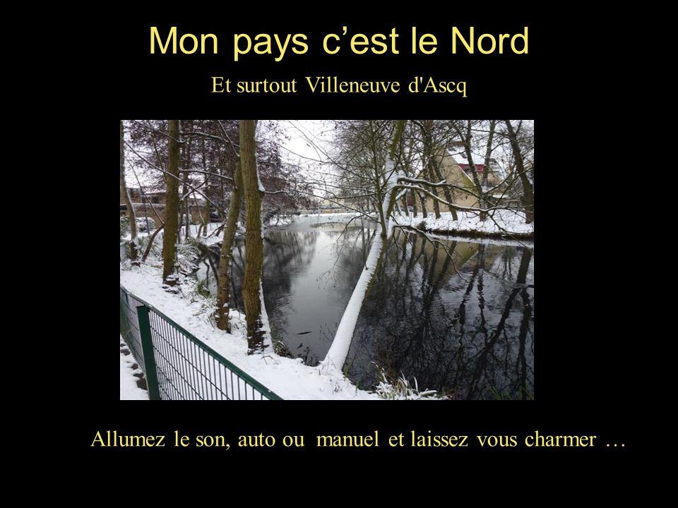 Mon pays c'est le Nord Et surtout Villeneuve d'Ascq Allumez le son, auto ou manuel et laissez vous charmer …