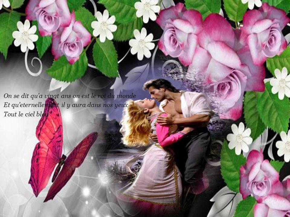 Car le temps de l'amour C'est long et c'est court Ca dure toujours, on s'en souvient
