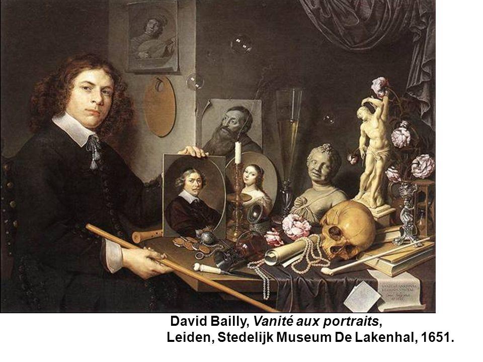 David Bailly, Vanité aux portraits, Leiden, Stedelijk Museum De Lakenhal, 1651.