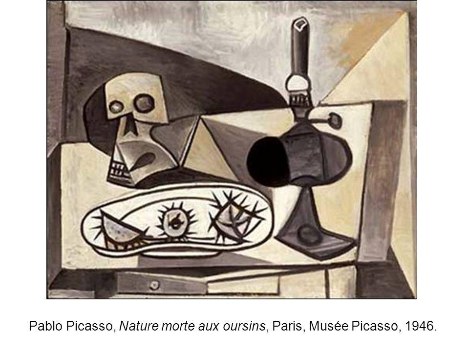 Pablo Picasso, Nature morte aux oursins, Paris, Musée Picasso, 1946.