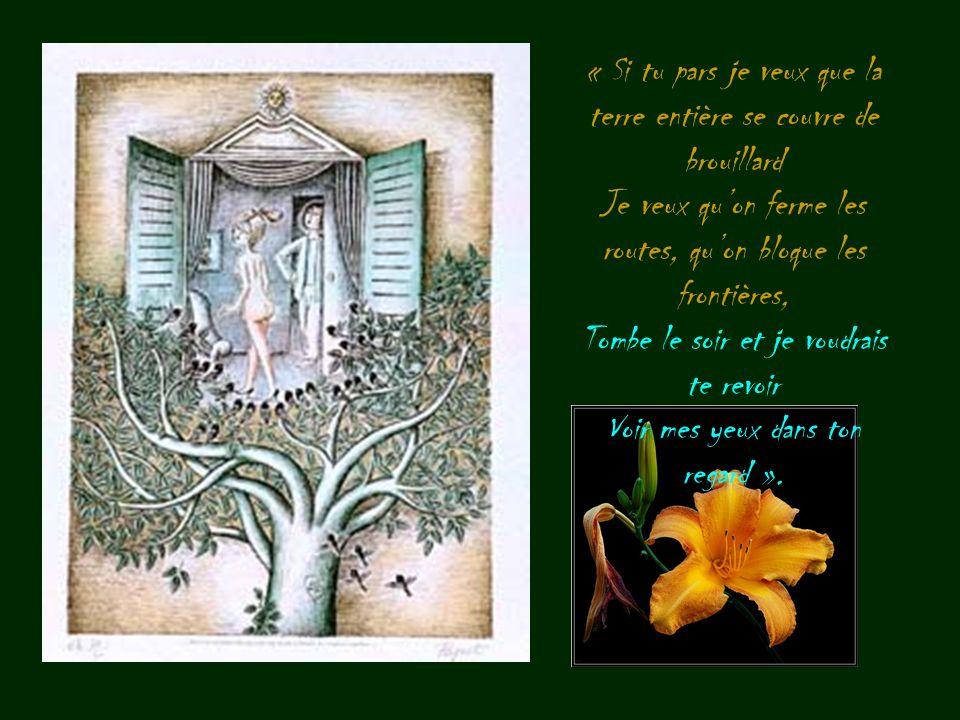 L'amour est poésie. Un amour naissant inonde le monde de poésie, un amour qui dure irrigue de poésie la vie quotidienne.