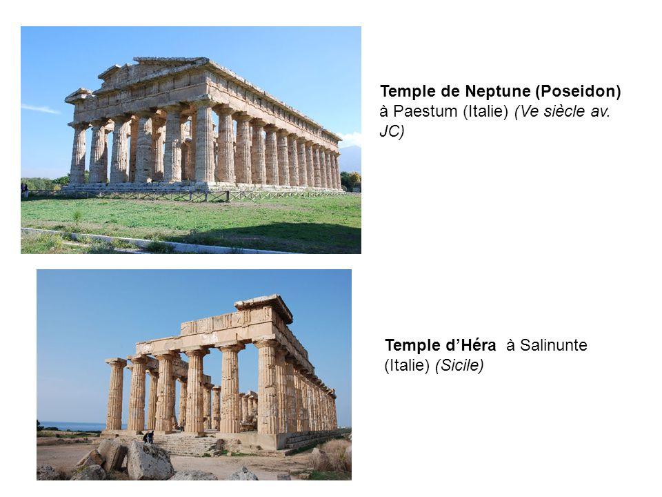 Temple de Neptune (Poseidon) à Paestum (Italie) (Ve siècle av.