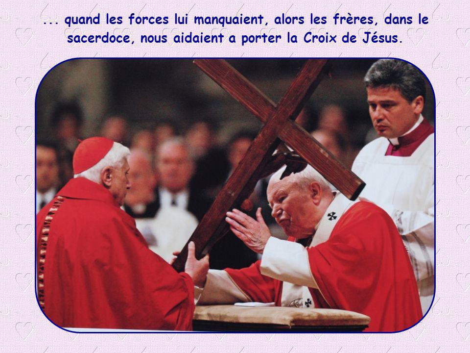 Nous n avons jamais dissimulé la Croix, même...