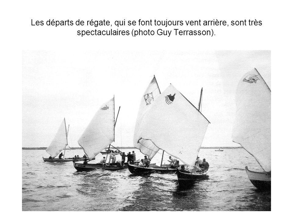 Régates à l Herbe : les départs de la plage deviennent problématiques (photo Hubert charpentier).