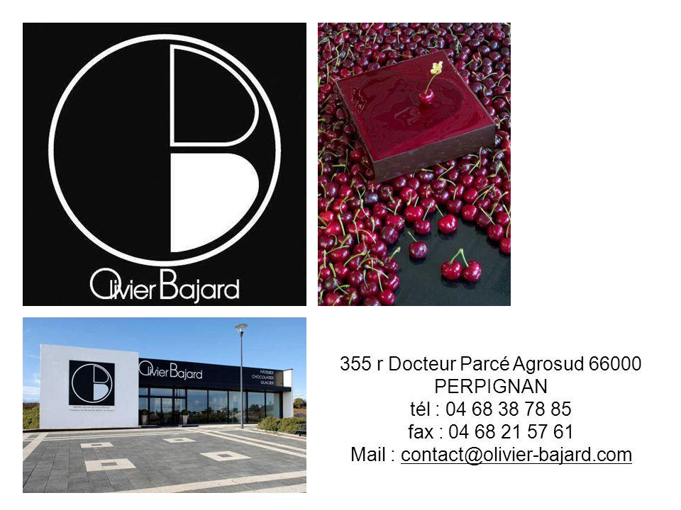 355 r Docteur Parcé Agrosud 66000 PERPIGNAN tél : 04 68 38 78 85 fax : 04 68 21 57 61 Mail : contact@olivier-bajard.com