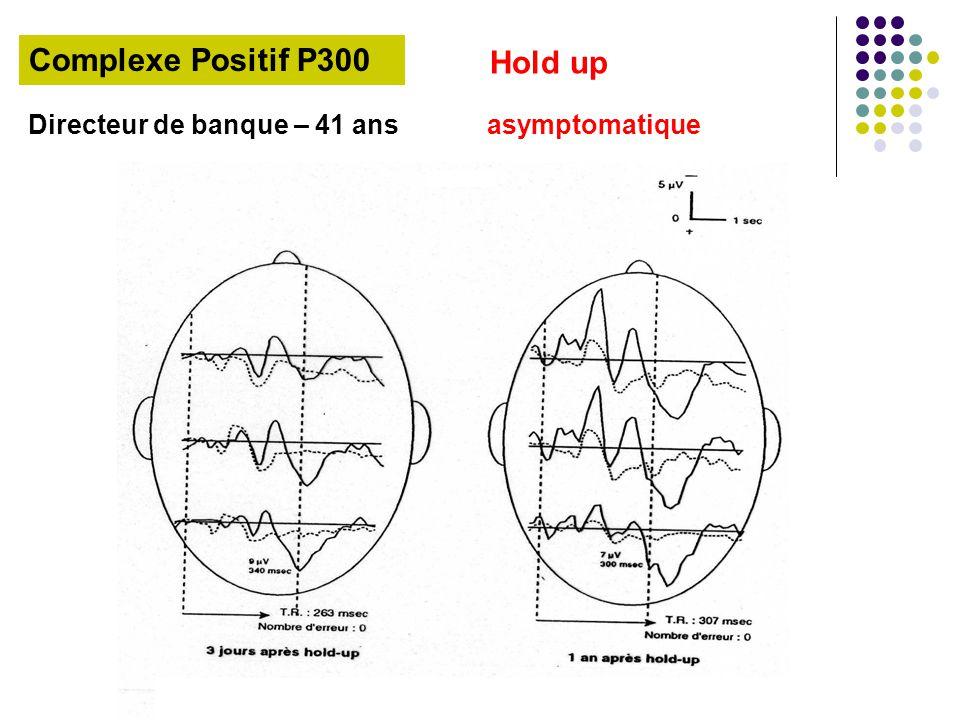 Directeur de banque – 41 ans asymptomatique Complexe Positif P300 Hold up