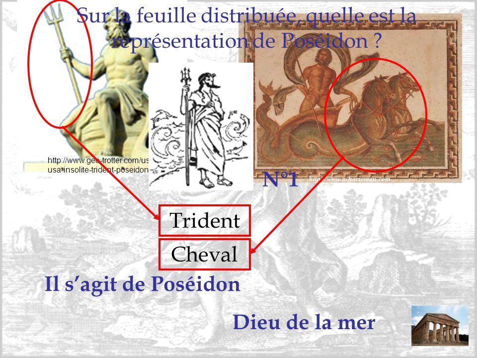http://www.geo-trotter.com/usa/map- usa-insolite-trident-poseidon.php Trident Cheval Il s'agit de Poséidon Dieu de la mer Sur la feuille distribuée, q