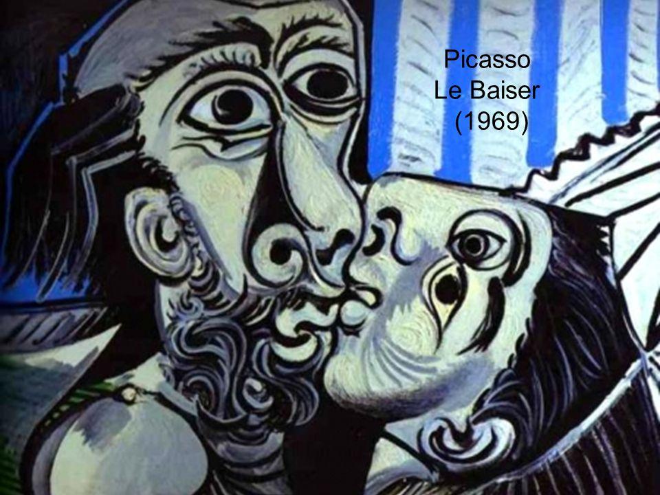 Picasso Le Baiser (1969)