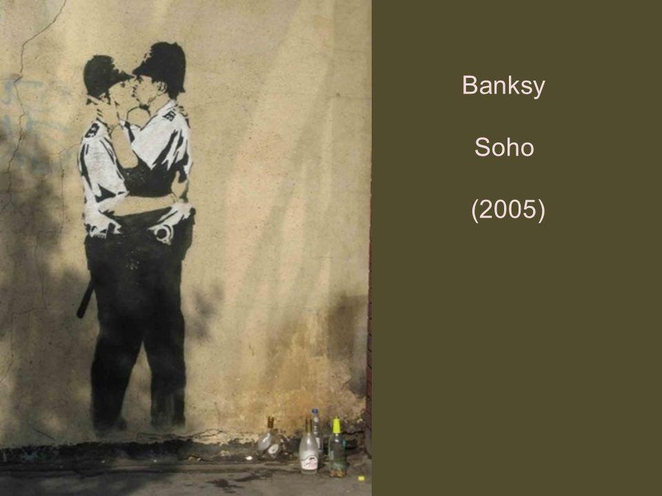 Banksy Soho (2005)