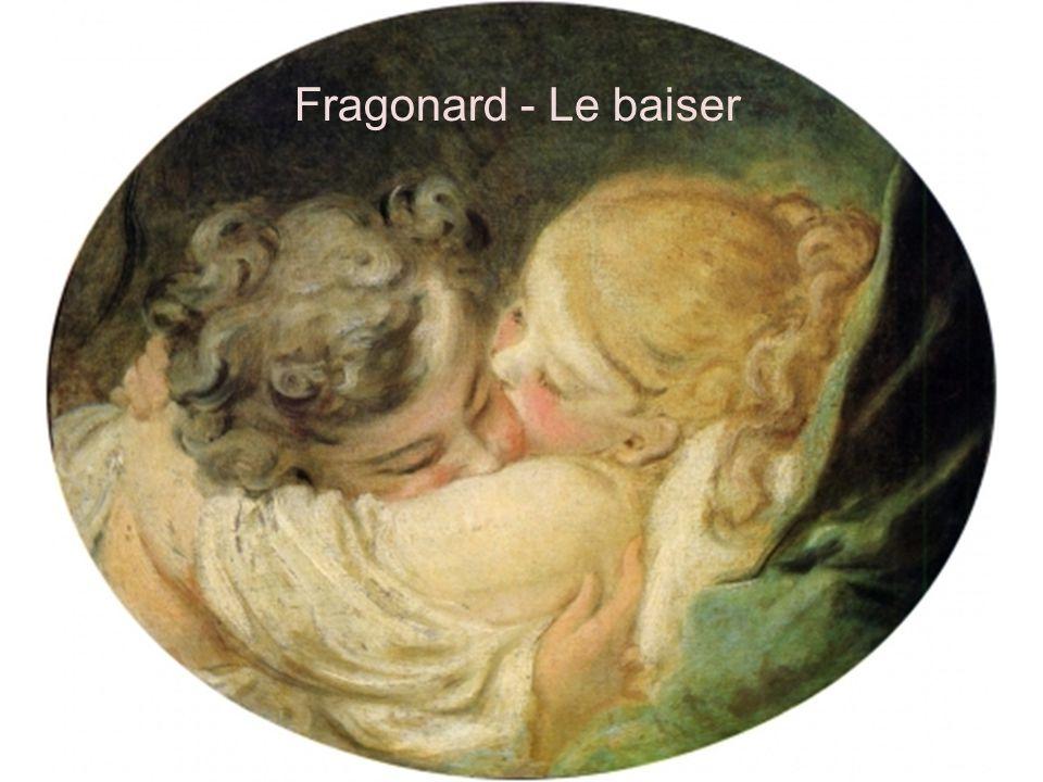 Fragonard - Le baiser